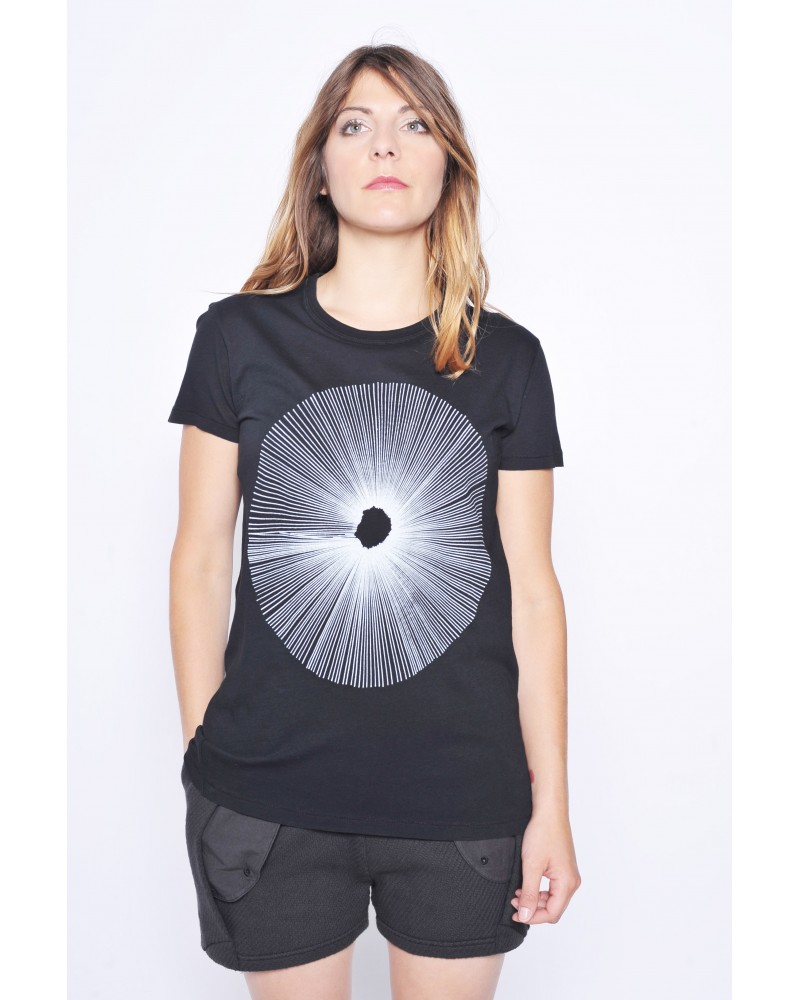 T-Shirt noir Silent